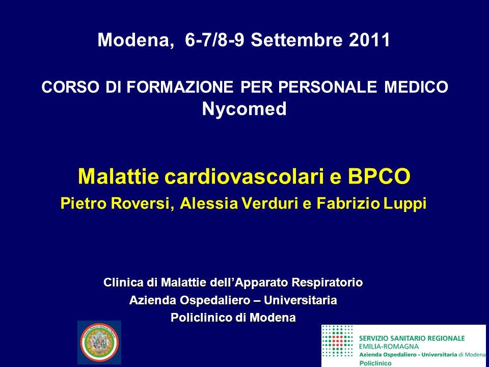 Malattie cardiovascolari e BPCO