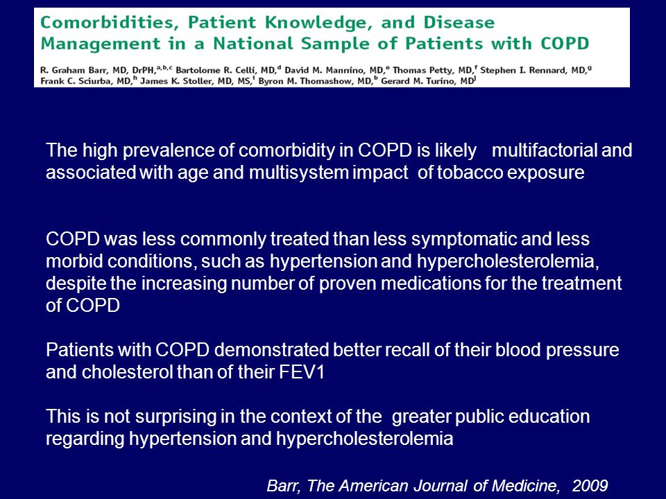 Patients with COPD demonstrated better recall of their blood pressure