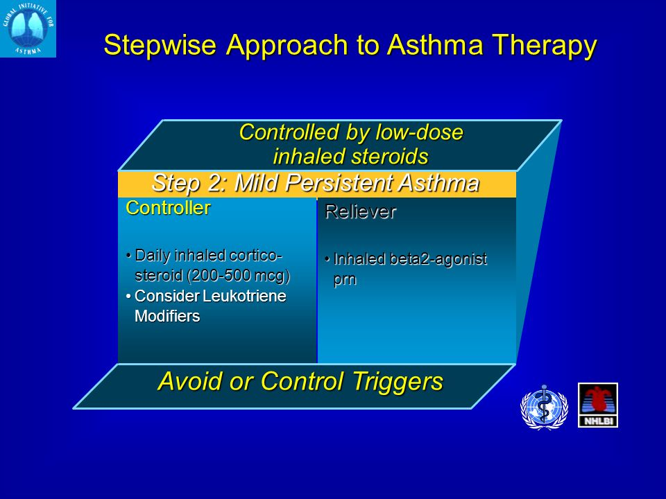 Stepwise Approach to Asthma Therapy