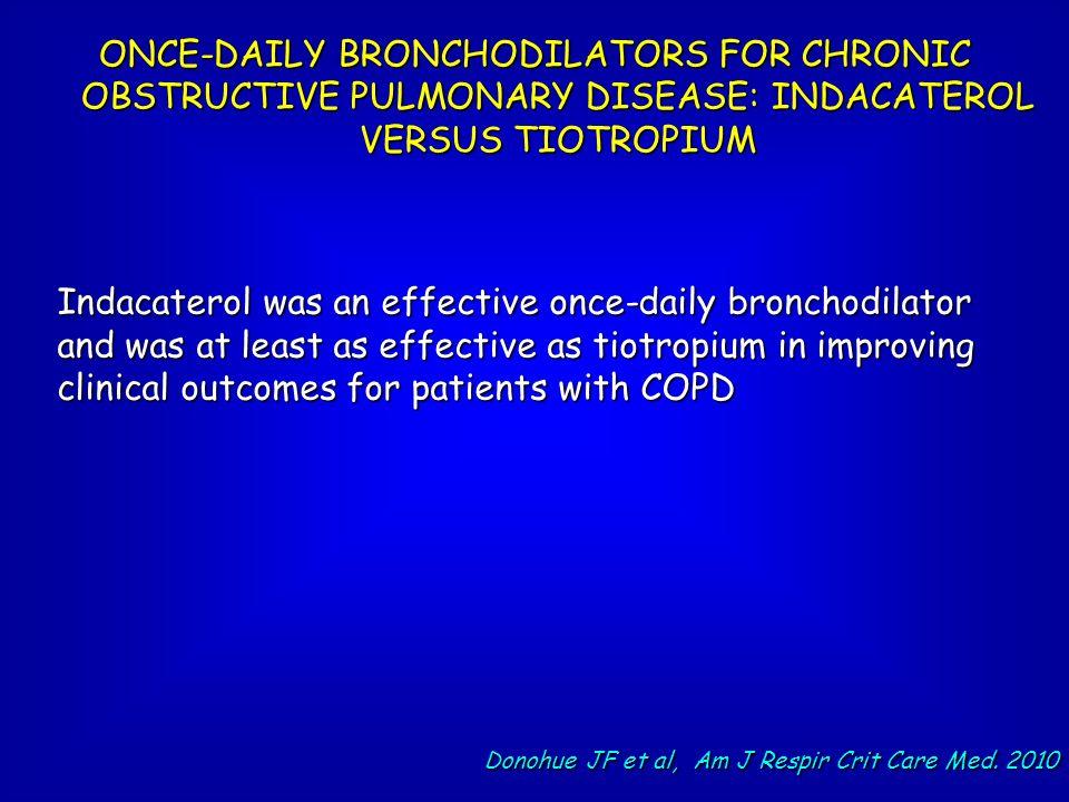 Donohue JF et al, Am J Respir Crit Care Med. 2010
