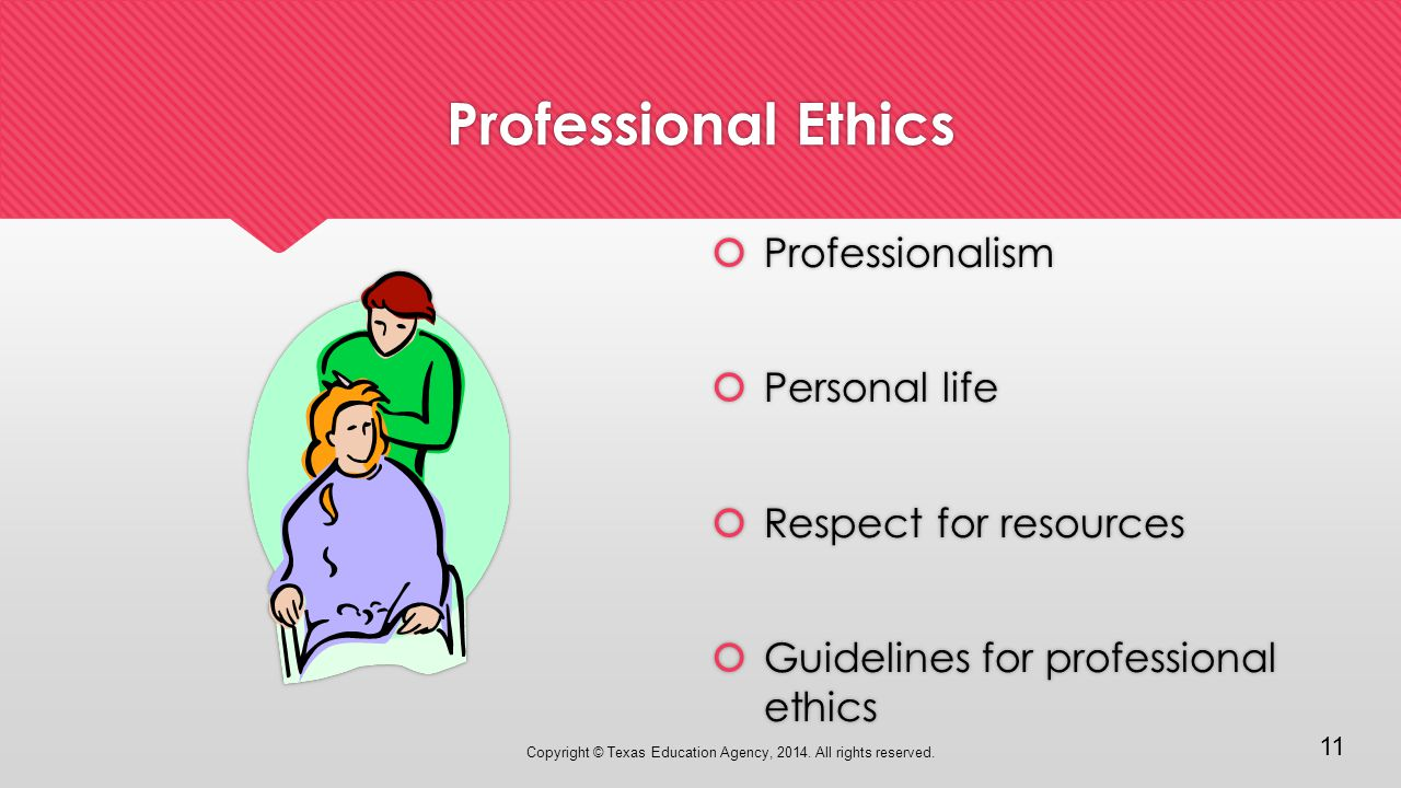 ethics and the work environment  u2013 introduction to