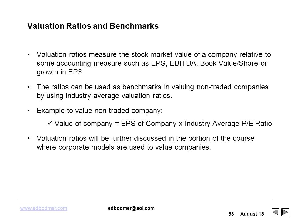 investment valuation ratios essay Ratio analysis and equity valuation: from research to financial statement analysis has traditionally been seen as part , / ratio analysis and equity valuation,,.