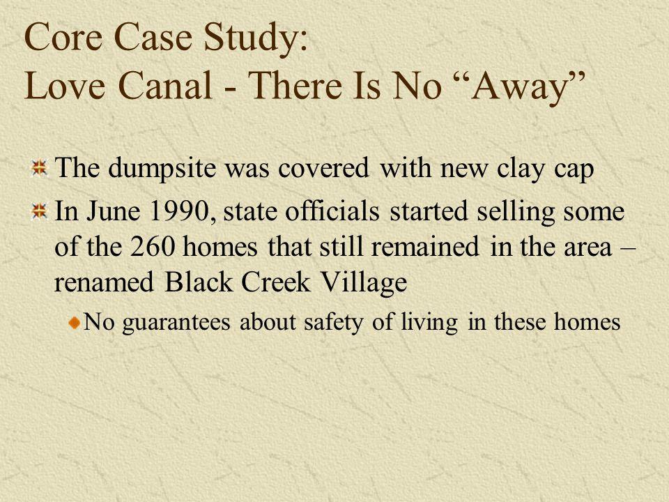 Case Study One Love Canal Superfund Site, Niagara Falls ...