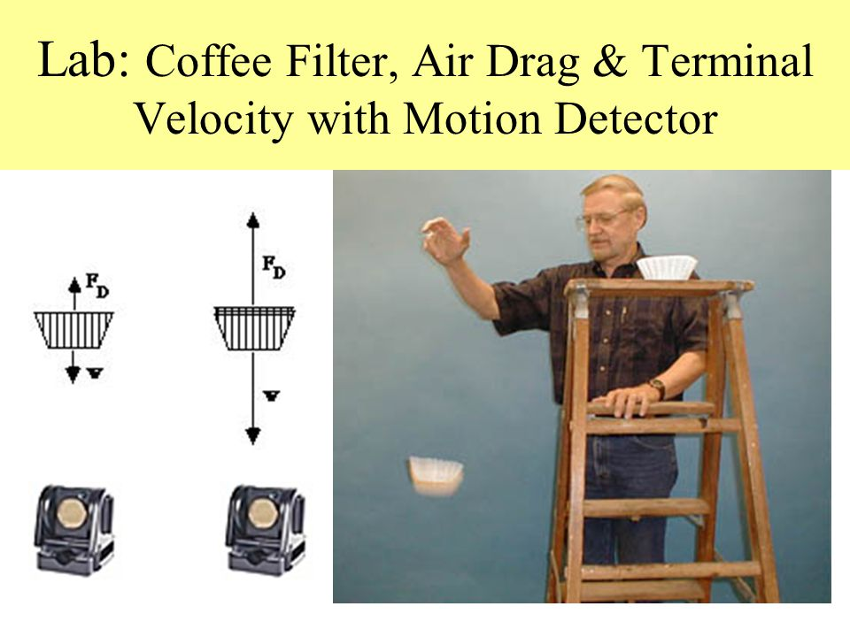 lab terminal velocity The purpose of this page is to take a more mathematical look at air (fluid)  resistance (also called drag or the drag force) and terminal velocity.