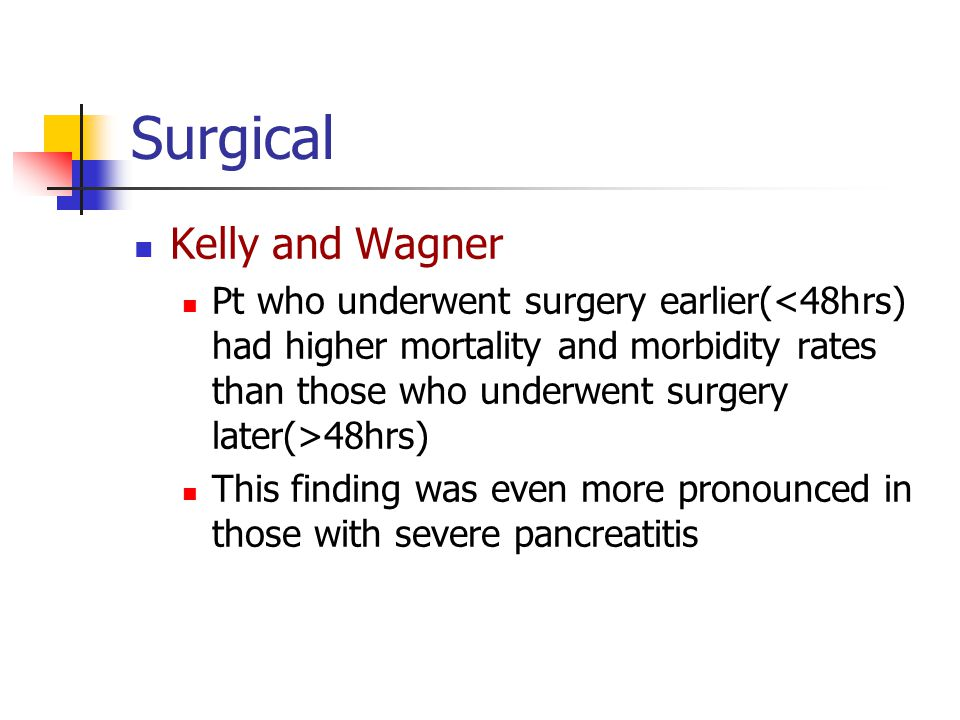 Surgical Kelly and Wagner