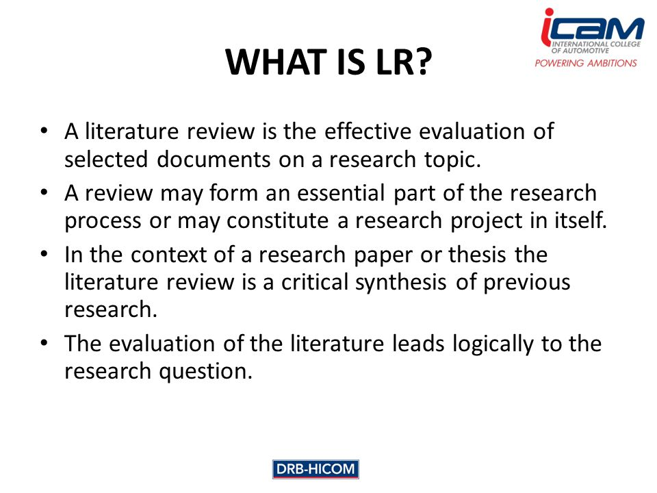 discuss the importance of review of related literature in educational research Importance of literature review april 4, 2017 literature review writing tips research is made in order to inform people with new knowledge or discovery.