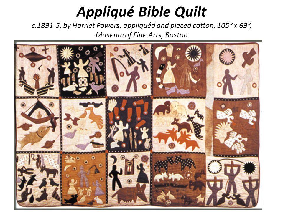 The Art of Quilting In America - ppt video online download : harriet powers bible quilt - Adamdwight.com