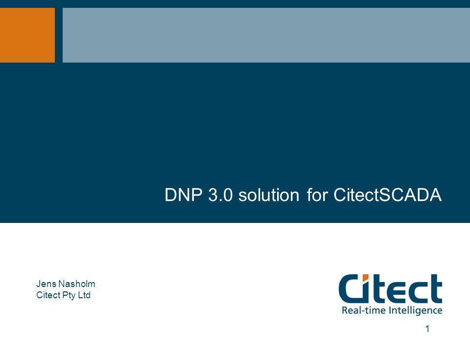 DNP 3 0 solution for CitectSCADA