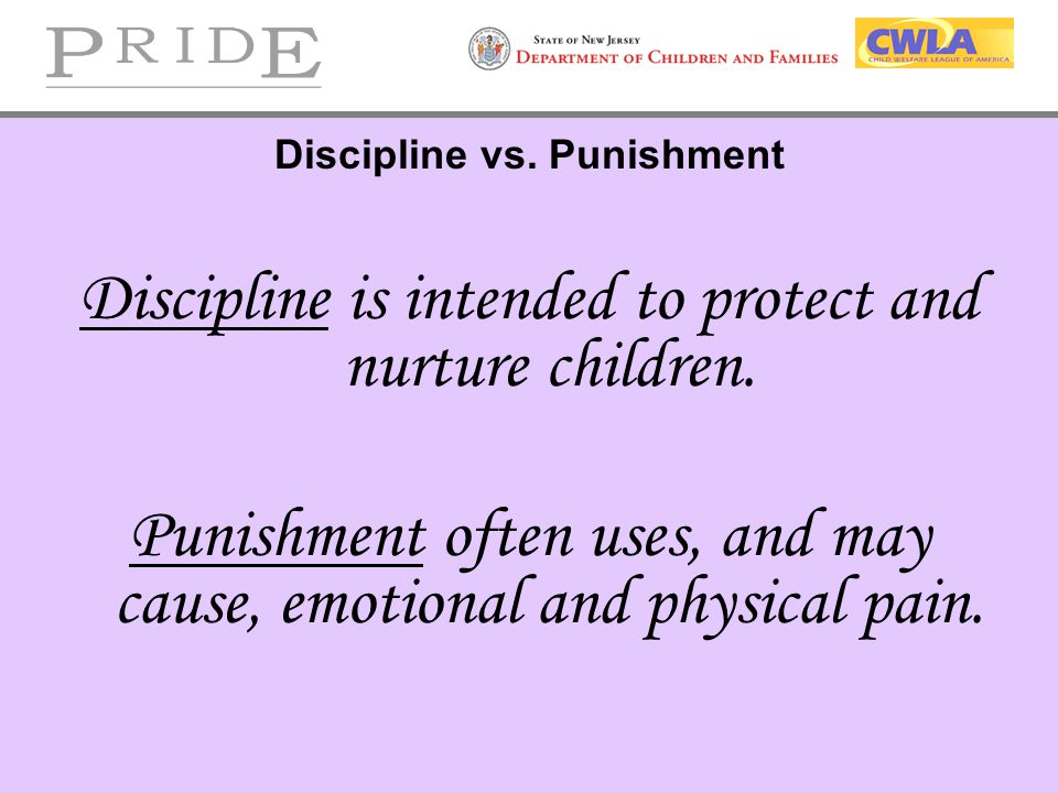"""punishment vs discipline essay Make your essays great ashlee johnson punishment vs discipline 04/29/10 hfs 4213 children cannot possibly benefit from """"discipline"""" in the form of punishment."""