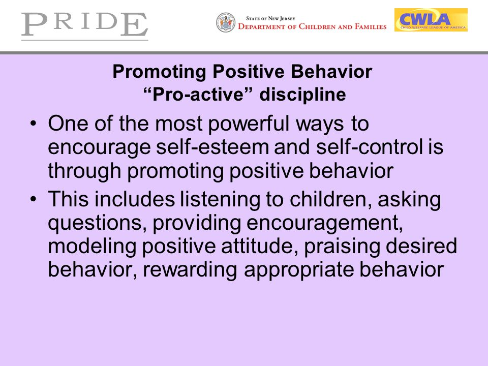 promoting children and cyps positive behaviour Staff are working to establish a positive behaviour policy  the school is committed to safeguarding and promoting the welfare and safety of children and young.