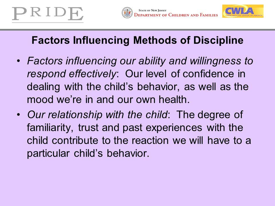 factors contributing to children s positive behavior The impact of psychosocial factors on  social responses to prevent violent behavior in children and  factors in understanding children's responses .