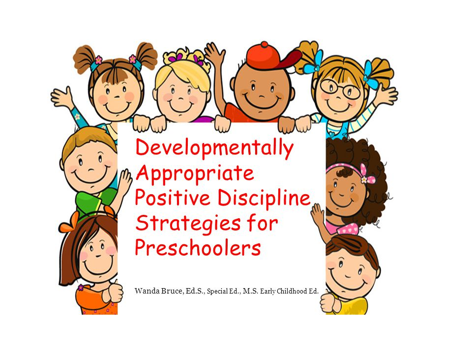 positive discipline for preschoolers pdf developmentally appropriate ppt 601