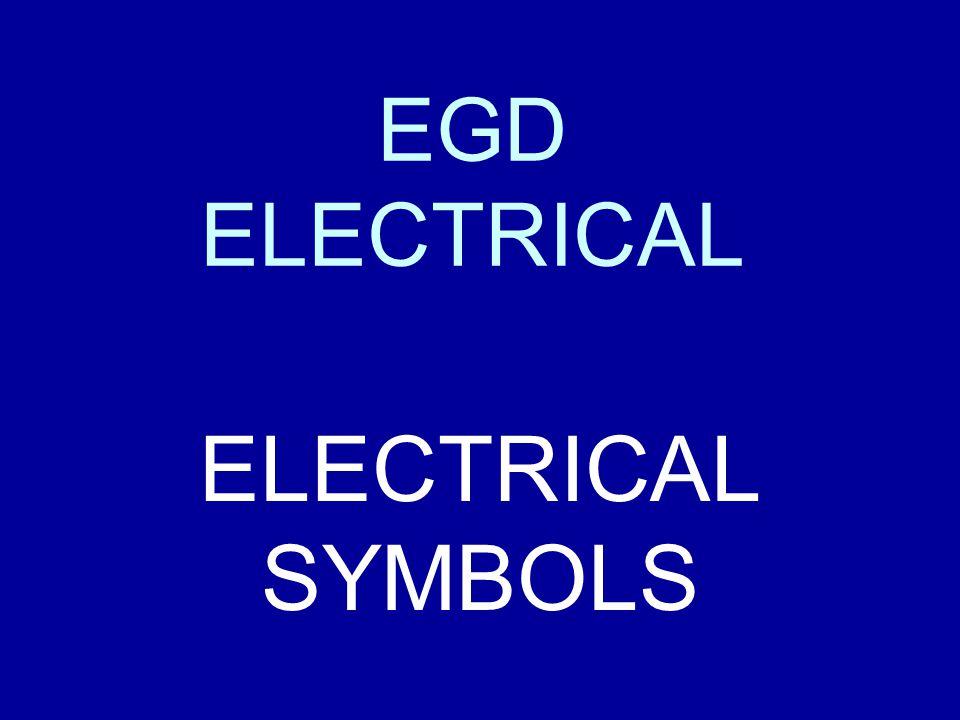 Egd Electrical Electrical Symbols Ppt Video Online Download