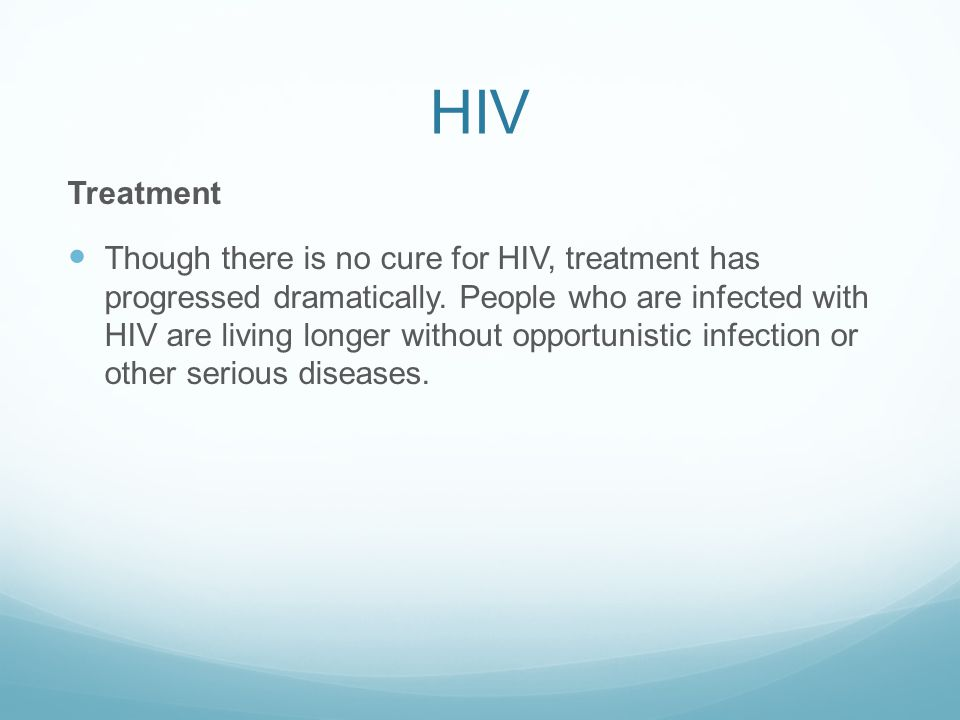 HIV Treatment.