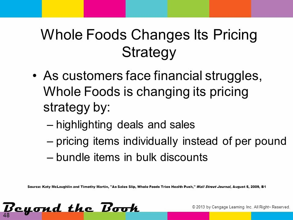 whole foods strategy implementation Kyra kane emily lospennato brett simon kate sinervo ashley waxman co 700 final project: strategic plan for whole foods market may 2, 2012.
