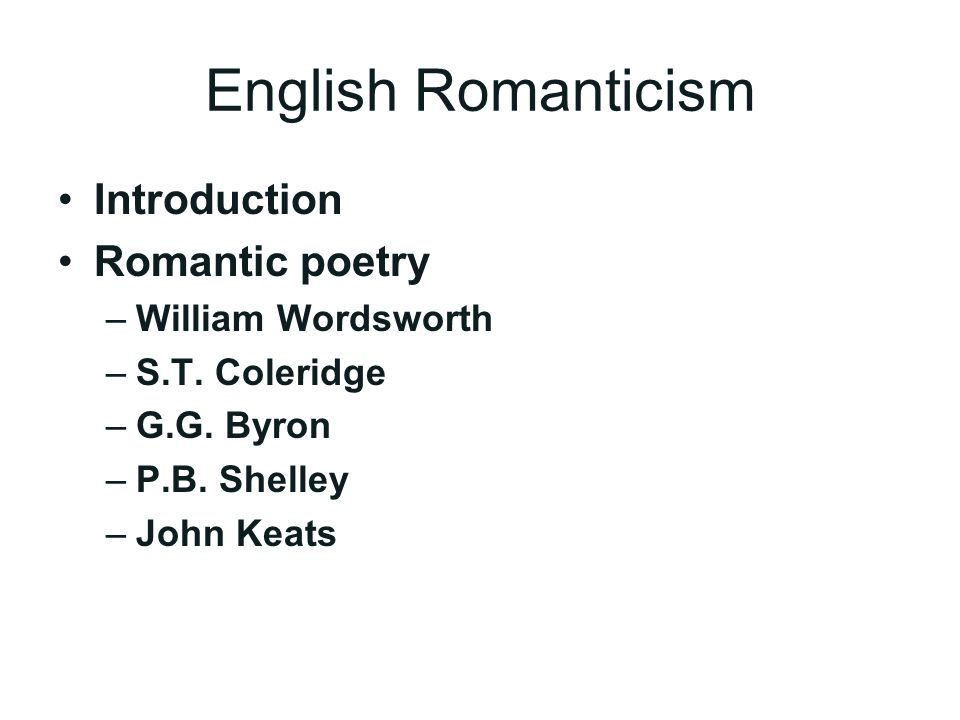 romanticism poetry william blake william wordsworth p cole Written by william blake, william wordsworth, percy bysshe shelley, samuel taylor coleridge, john keats, lord byron, john clare, narrated by michael sheen download the app and start listening to great poets of the romantic age today - free with a 30 day trial.