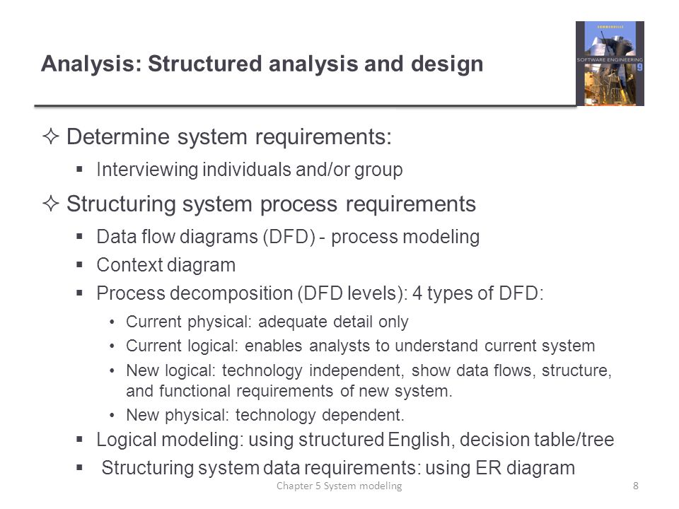 Structured vs object oriented analysis and design sad vs ooad 8 analysis ccuart Images