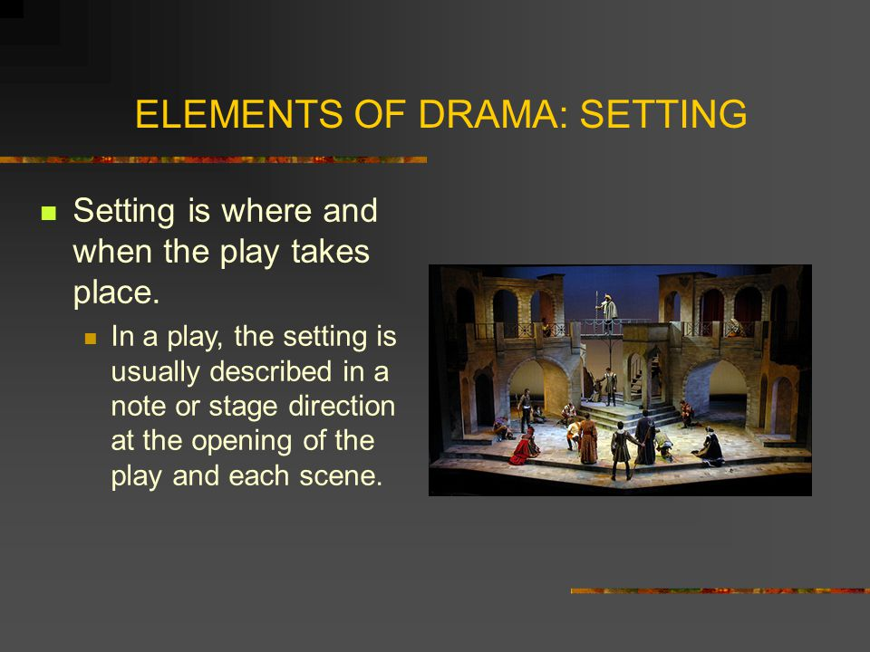 elements of a play pdf
