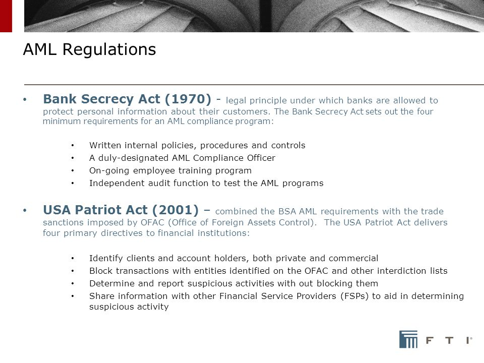 employer compliance with the patriot act essay Chap 007 - download as (rtf  objective: 14 essay questions 7-37  280) the usa patriot act of 2001 has resulted in the  of the usa patriot act on.