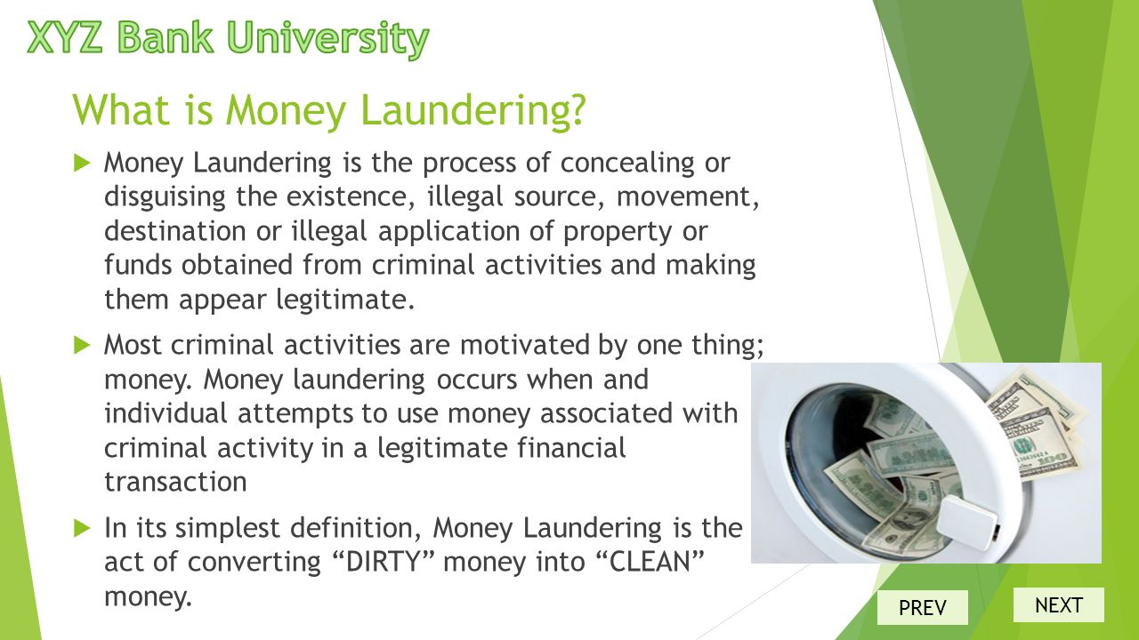 anti money laundering act pdf