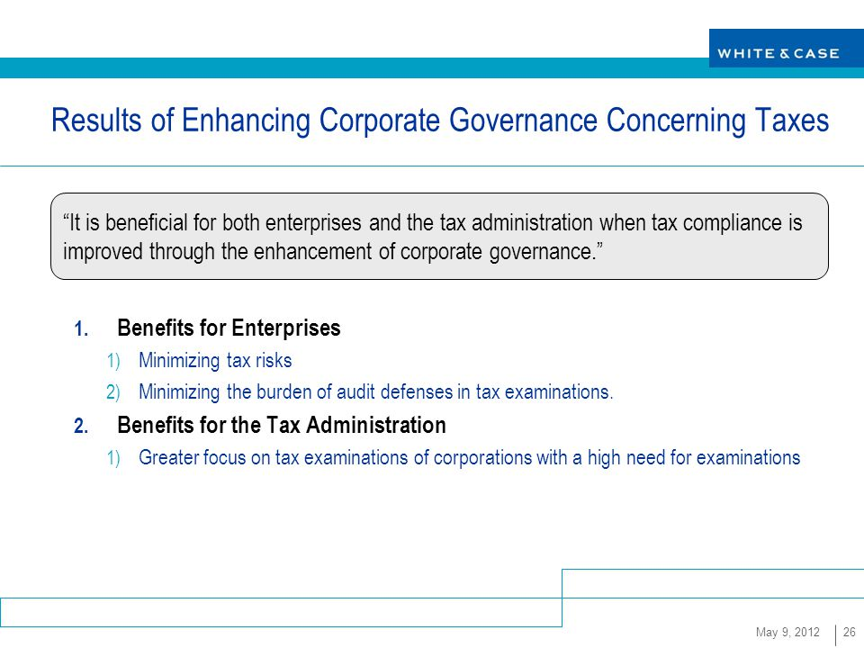Therefore, the impact of corporate tax avoidance on financial constraints is likely to depend on the strength of a firm's corporate governance. In an article forthcoming in Financial Management [1], we examine how corporate governance affects the relationship between a firm's tax avoidance and its financial constraints.