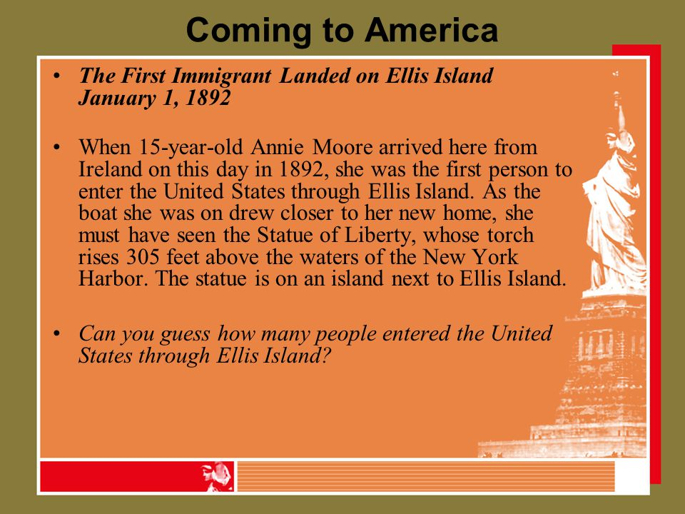 ellis island immigration list