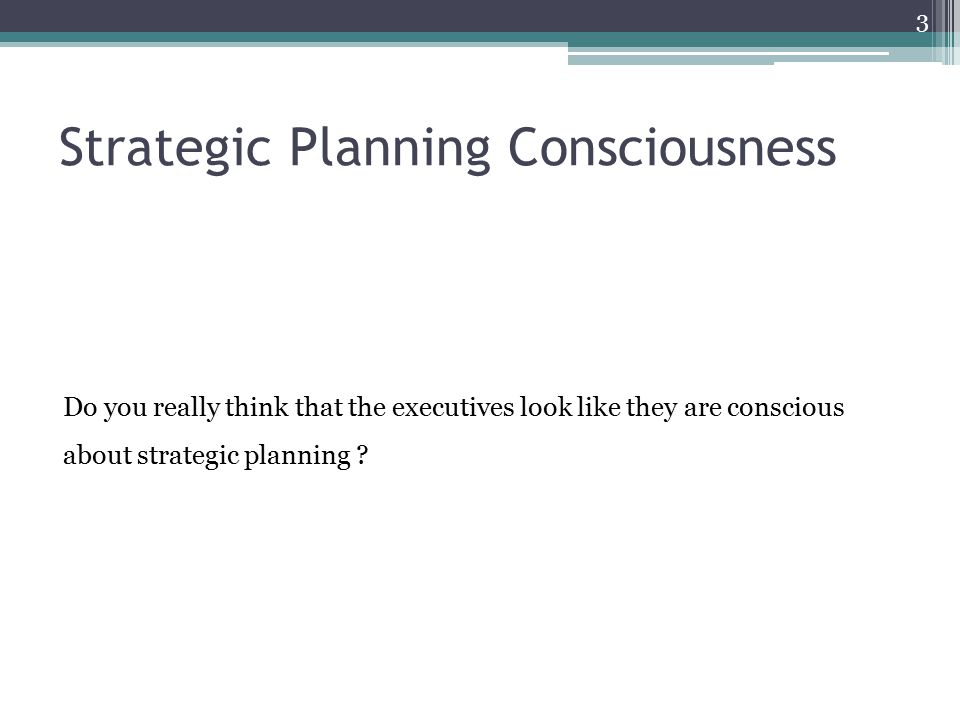3 do you think the strategic use 2012-1-4 strategic human resources management:  3 ii strategic planning  do you make that substantial an investment and not measure the return.