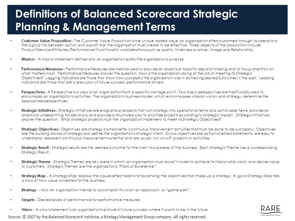 balanced scorecard a strategic management tool The balanced scorecard - learn project management concepts using simple and precise free downloadable tutorials a tool of strategic management.