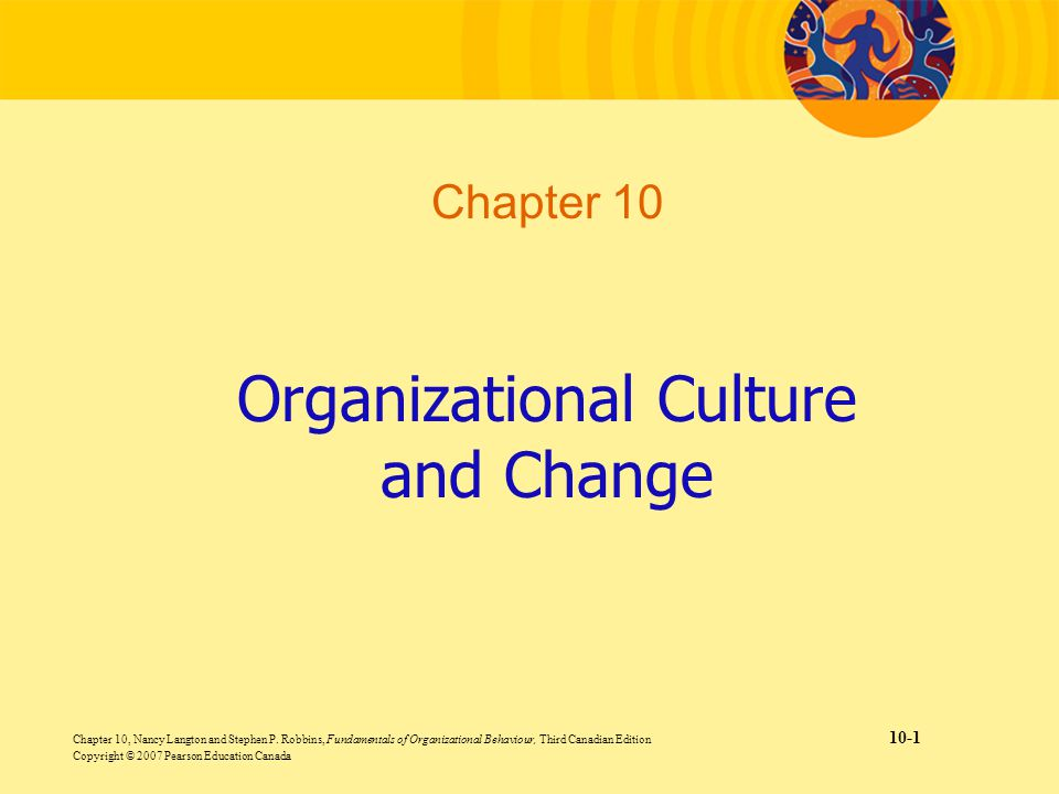 canadian organizational culture The handbook for healthy workplaces organizational culture october 2009 page 1 of 10 organizational culture overview  for many canadian organizations strategies to enhance employee health and well-being are key to attracting and retaining workers, and to containing the costs related to.