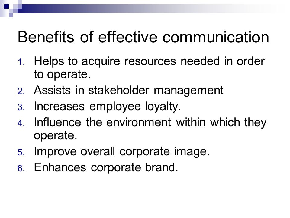 What Are the Benefits of Effective Communication in the Workplace?