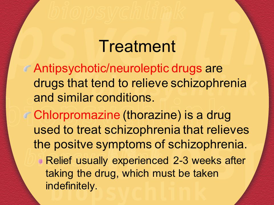 the symptoms and treatment of schizophrenia Schizophrenia with paranoia is the most common example of this mental illness delusions make someone with it unreasonably suspicious of other people webmd explains the symptoms and treatment.