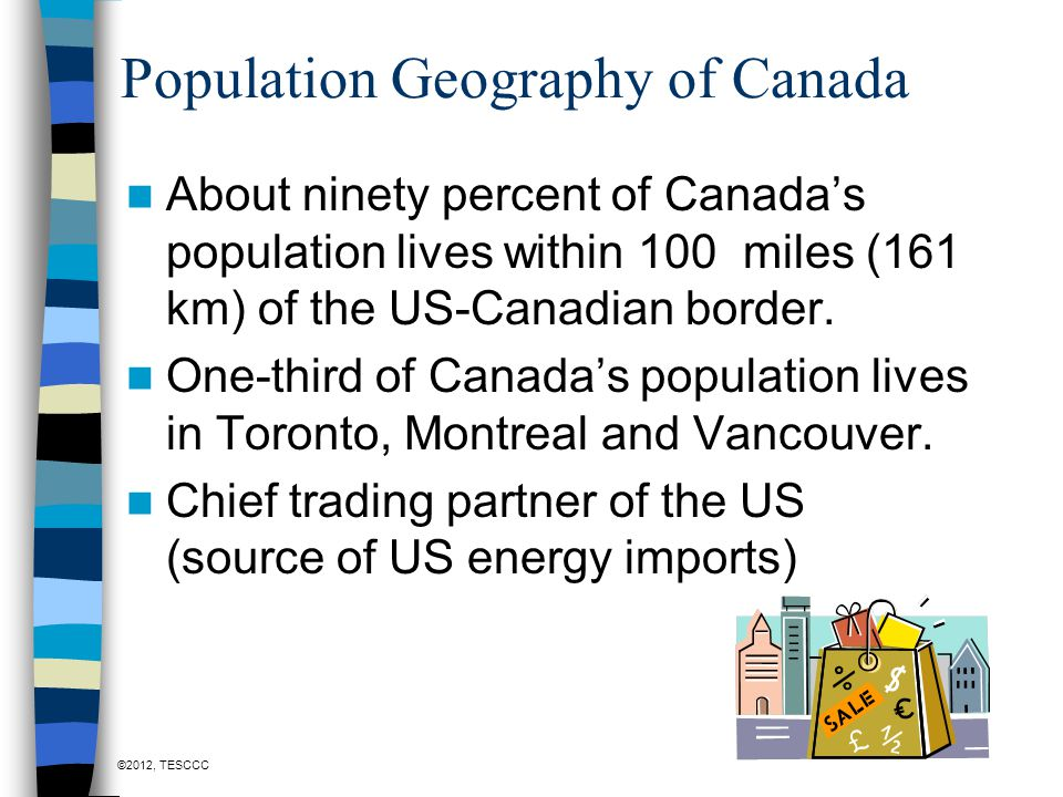 Population Geography of Canada