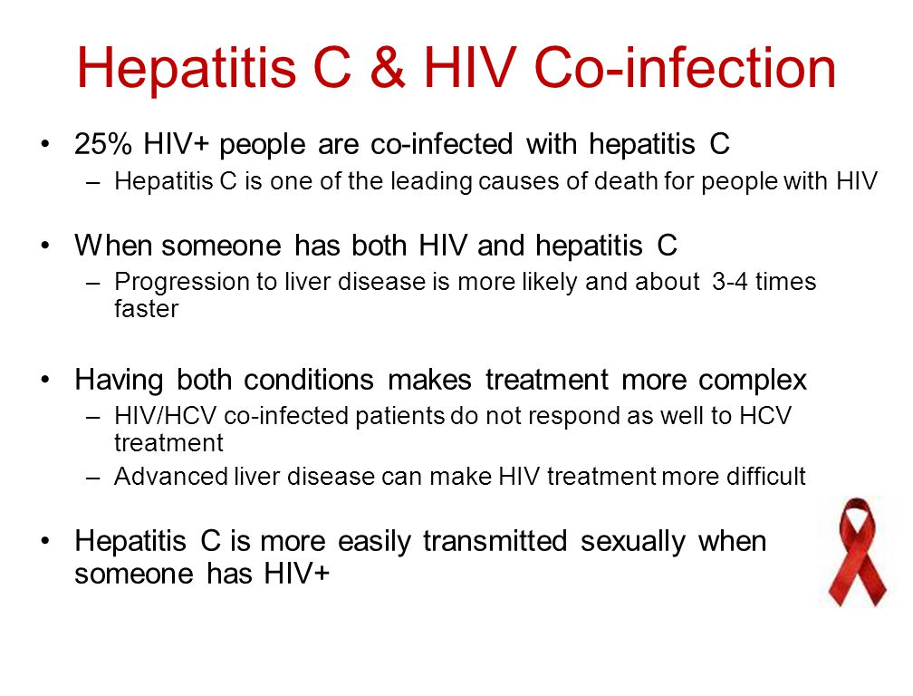 Hepatitis C & HIV Co-infection