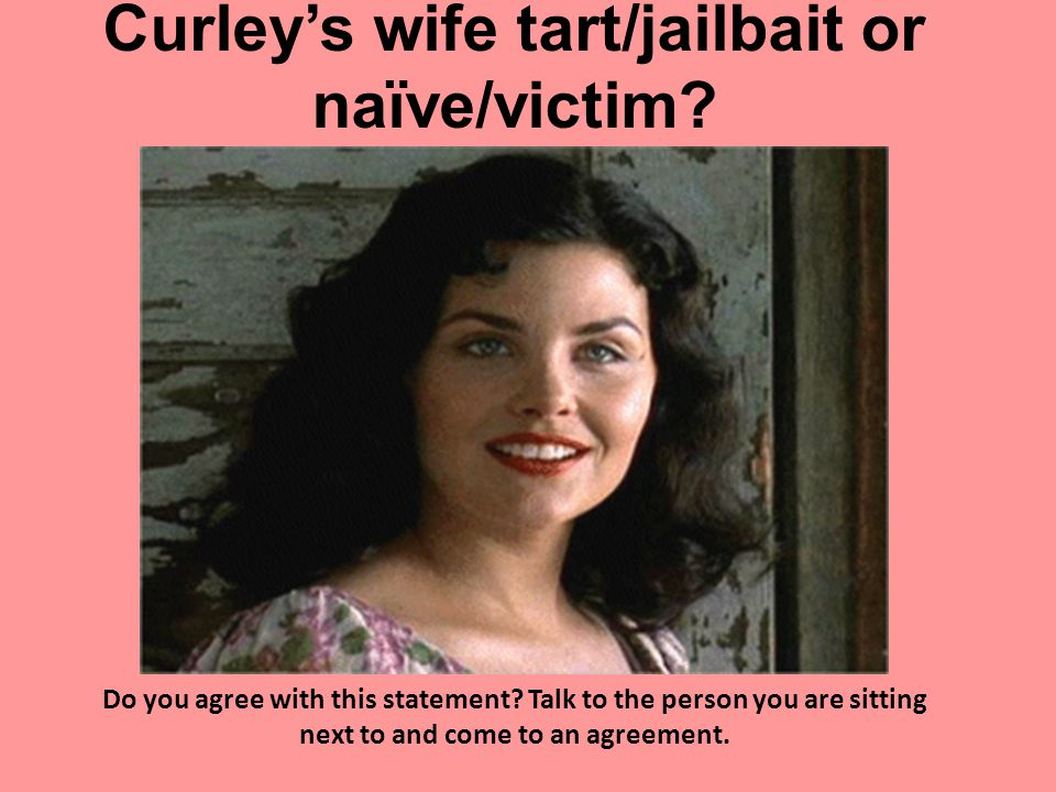 analysis of curleys wife