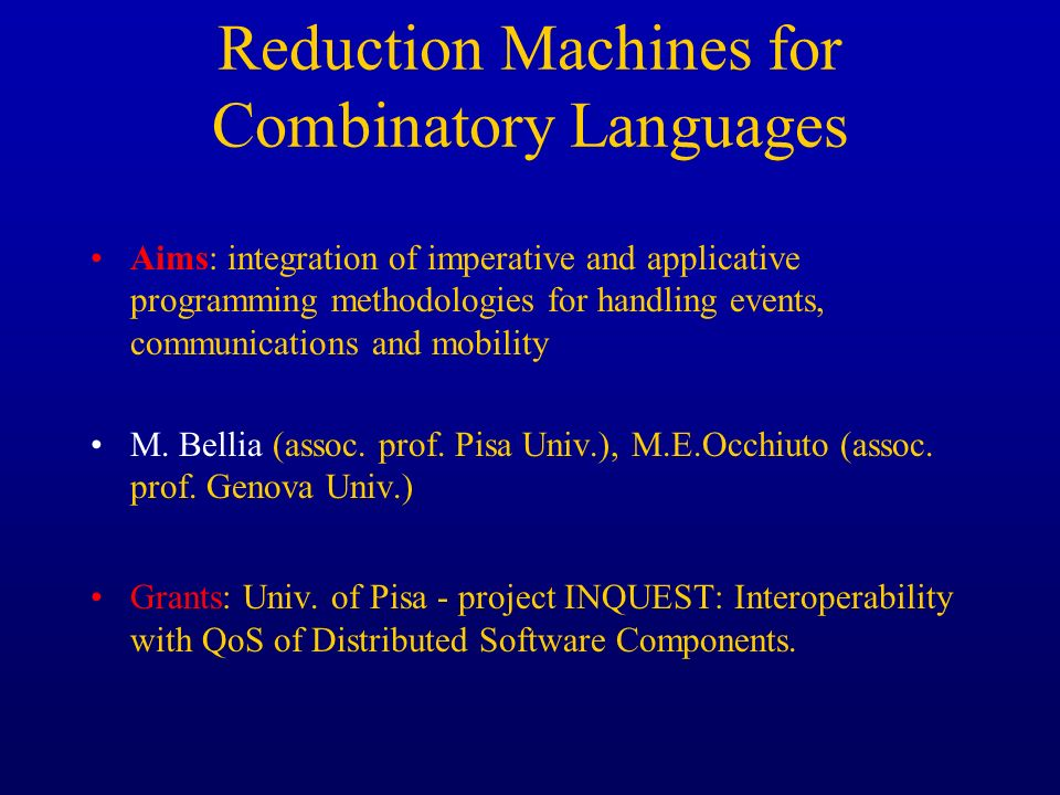 Reduction Machines for Combinatory Languages