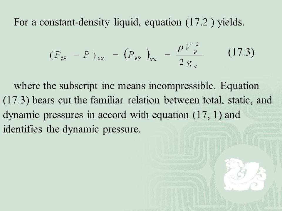 pressure and density relationship liquid conversion