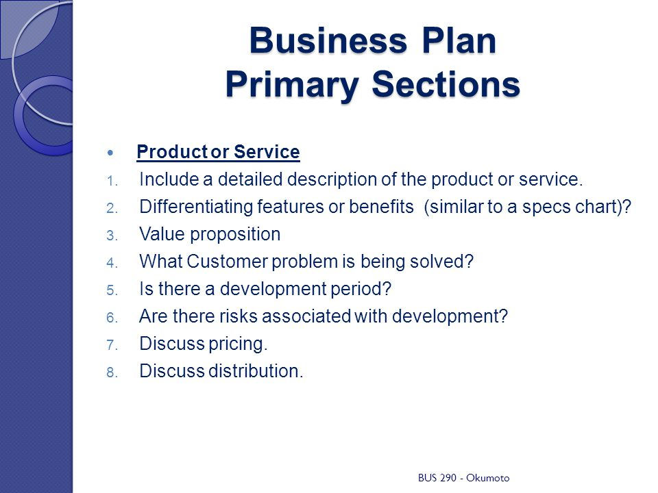 Business Plan Checklist Generic Example Business ppt video online ...