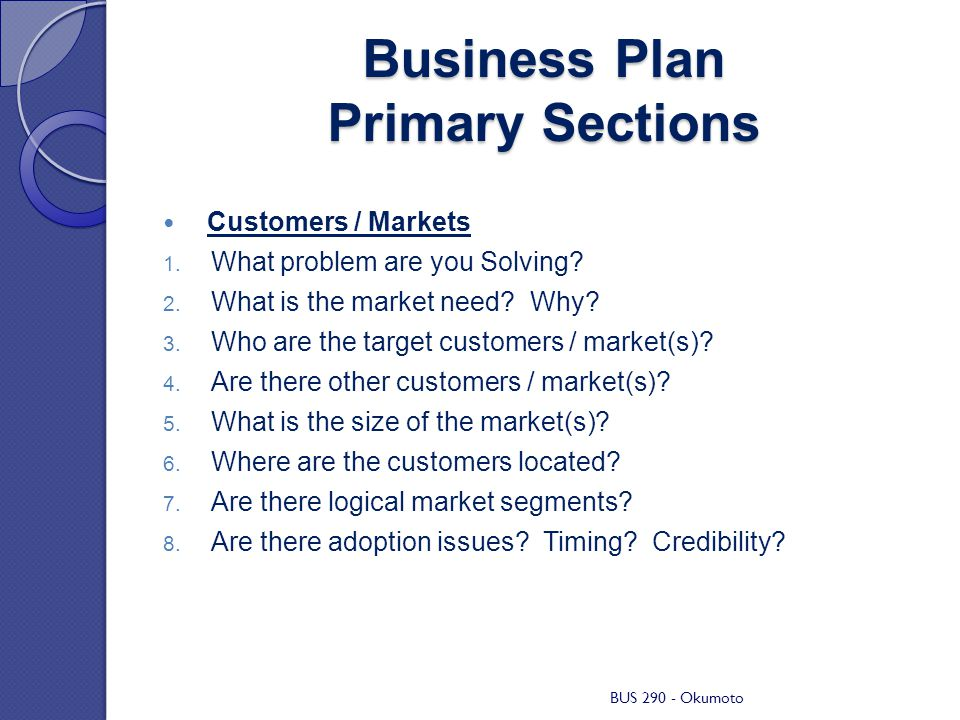 Business Plan Checklist Generic Example Business ppt download