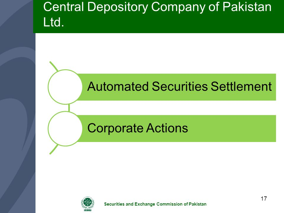 Central Depository Company of Pakistan Ltd.