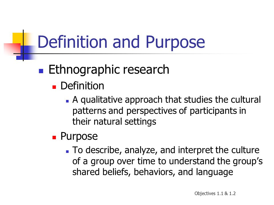 What is an Ethnographic Study? - Definition & Examples ...