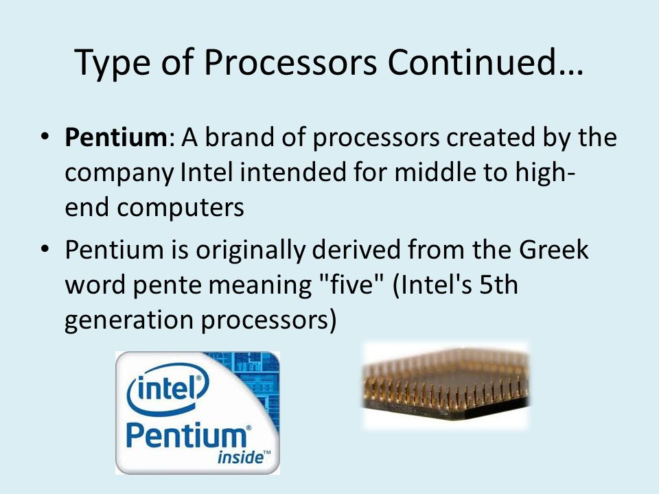 types of processors (cpus) single, dual core, triple core, quad core processors all types and   at the same time between the different hardware and memory systems.