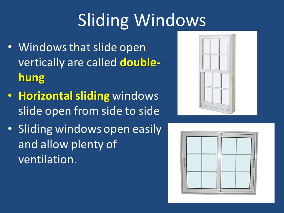 Double Open Windows : Objective critique window styles and treatments