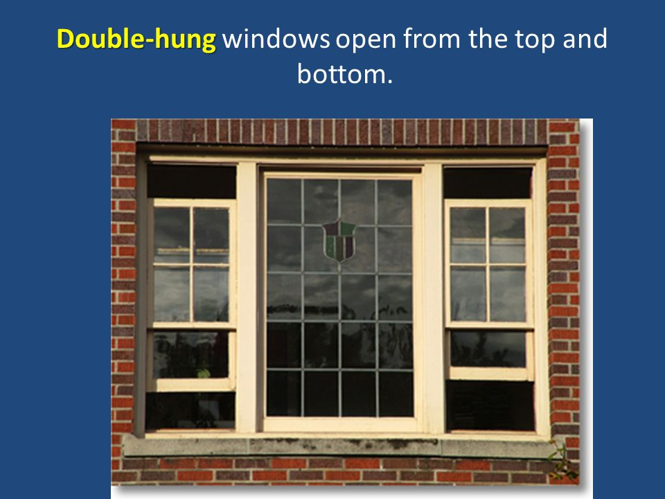 Bottom Hung Windows : Objective critique window styles and treatments