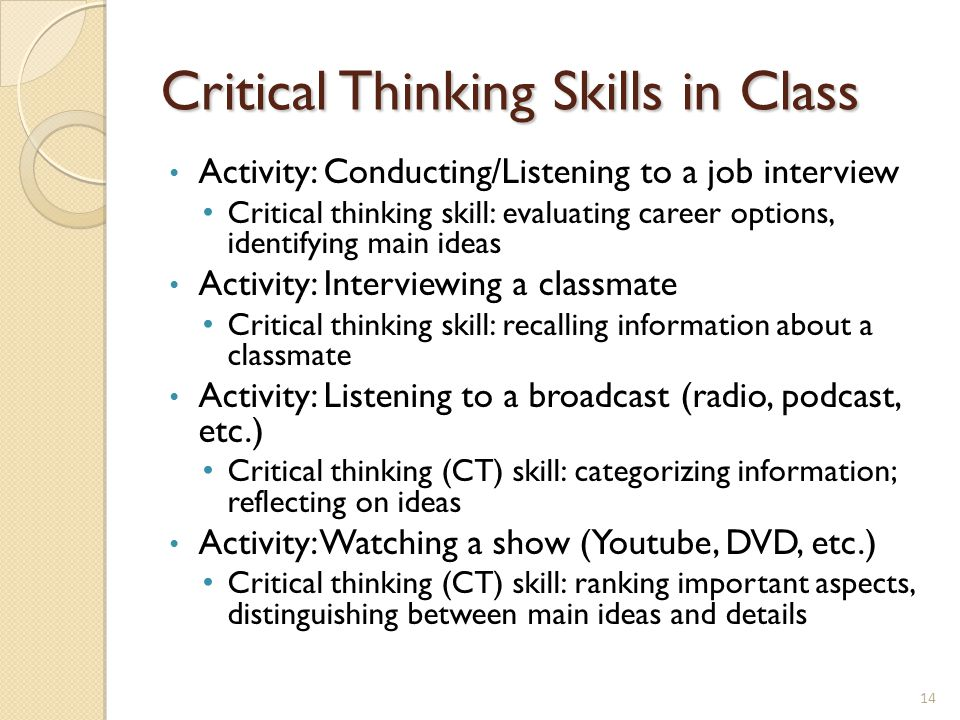 critical thinking activities for spanish class Critical thinking in united states history colonies to constitution • new republic to civil war • reconstruction to progressivism • spanish-american war to vietnam war.