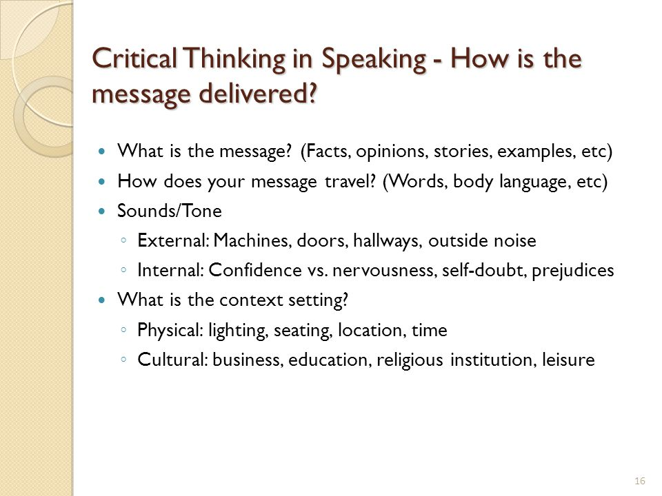 critical thinking for business essay Critical thinking questions what qualities make a person a good parent a bad parent a good parent wouldn't be selfish, they would be selfless, they would put their children's needs before their wants  a bad parent would be the opposite.