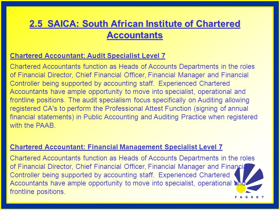Roles of professional accountants in relation