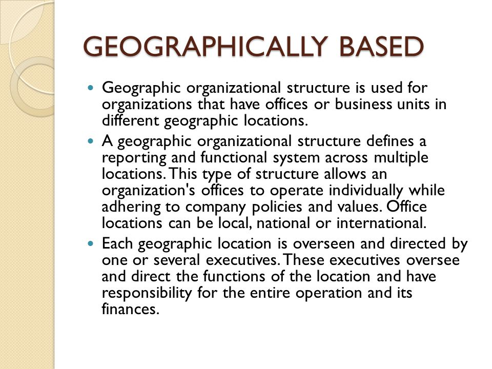 multidivisional and multifunctional structure Definition of multifunctional team: when setting up a new business, you should pay careful attention to designing your company's organizational structure.