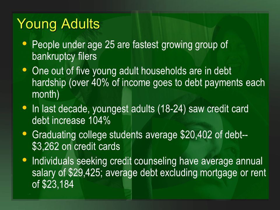 young adult bankruptcy Parkes
