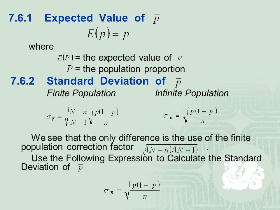 how to find the expected value of a distribution