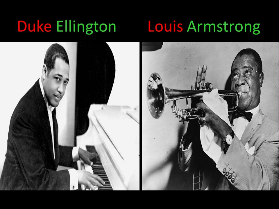 Duke Ellington Louis Armstrong